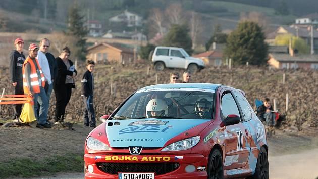 Na rally Agropa odstartuje také Dominik Laurent.