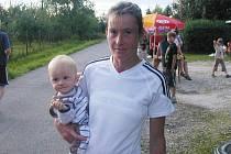 Táňa Metelková se synem Tomáškem.