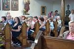 Z koncertu Karolíny Žmolíkové v mladějovském kostele.