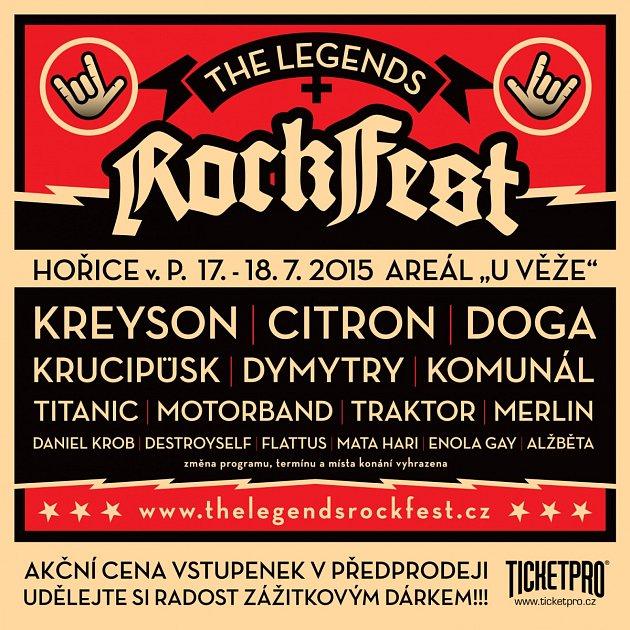 Program Rockfestu 2015.