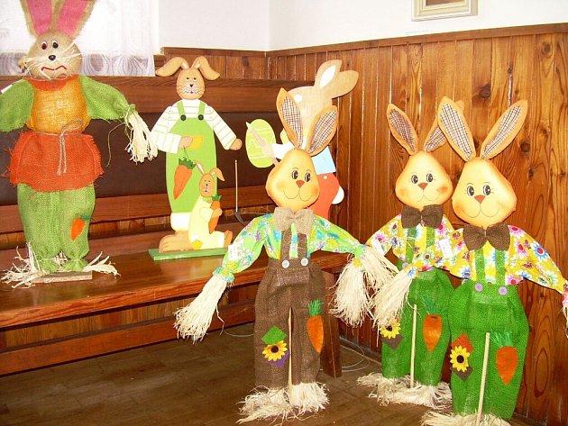 Velikonoční výstava v Úhlejově.