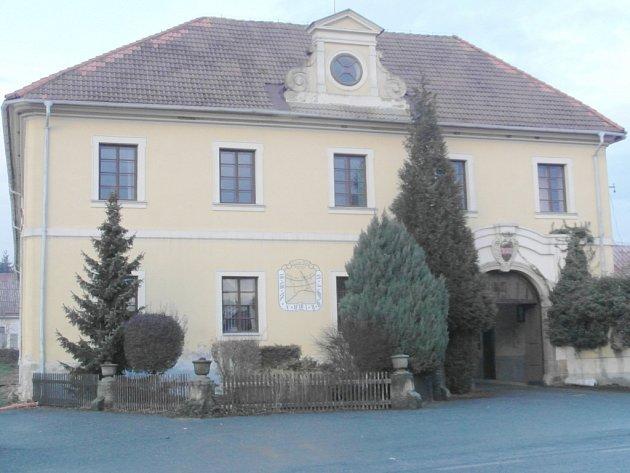 Hořický zámek.