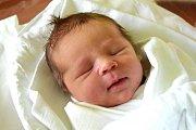 PAVEL HLOUŠEK se směje na svět od 25. prosince, kdy se narodil s porodní mírou 49 cm a váhou 3,53 kg. Šťastní rodiče Iva Čapková a Pavel Hloušek si svoje miminko odvezli domů do Semil.