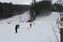 Novopacký Ski areál Máchovka.