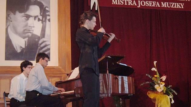 V Nové Pace se konala houslouvá soutěž na počest Josefa Muziky.