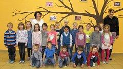 Žáci třídy 1. A ze ZŠ K. V. Raise Lázně Bělohrad (třídní učitelkaPavlína Krátká).