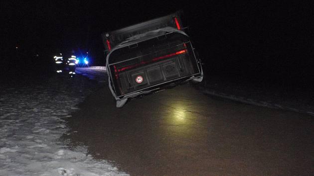 Počasí se promítlo i do počtu dopravních nehod.