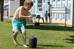 Zábavné odpoledne pro děti na jičínském koupališti Kníže.