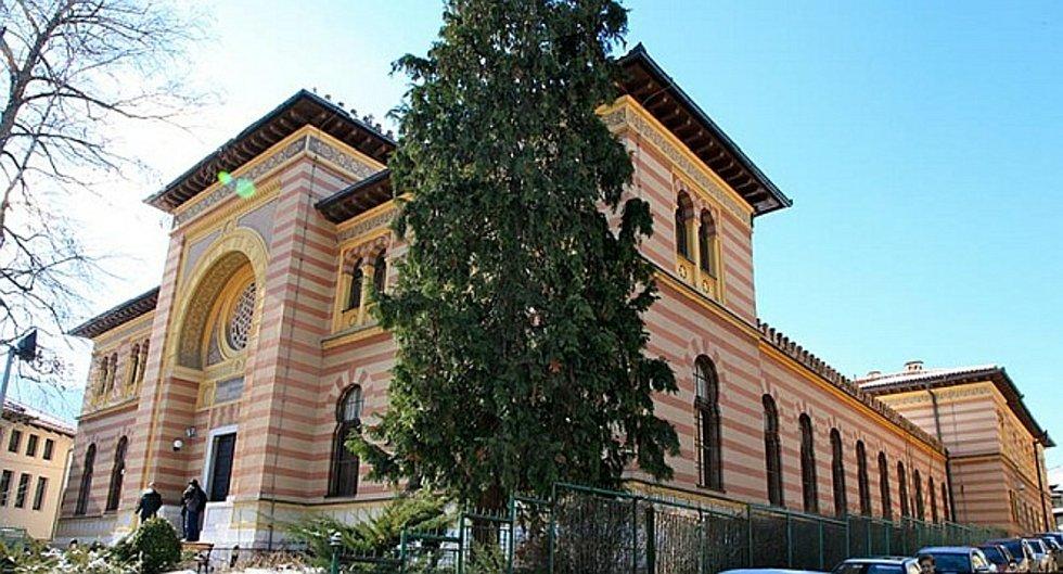 Bývalá Šarijatská škola, dnes Fakulta islámských studií v Sarajevu.