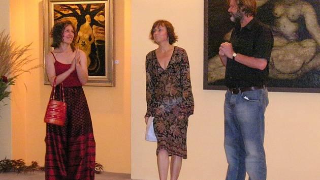 Ve vokšické galerii J.B. Spektrum se uskutečnila vernisáž výstavy díla Karla Šlengera.