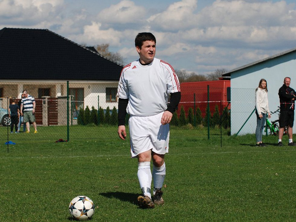 Krajská fotbalová I. B třída: TJ Sokol Nemyčeves - TJ Slavoj Skřivany.