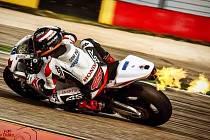 JIČÍNSKÝ TÝM vybojoval v dalším závodě mistrovství světa Supersport na španělském okruhu Motorland Aragon dvanácté místo. Na snímku jezdec týmu Kevin Wahr.