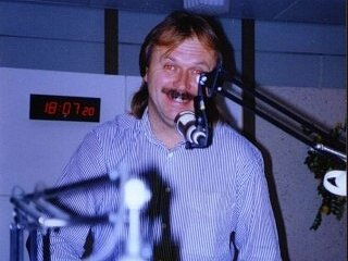 Diskžokej Zdeněk Vranovský.