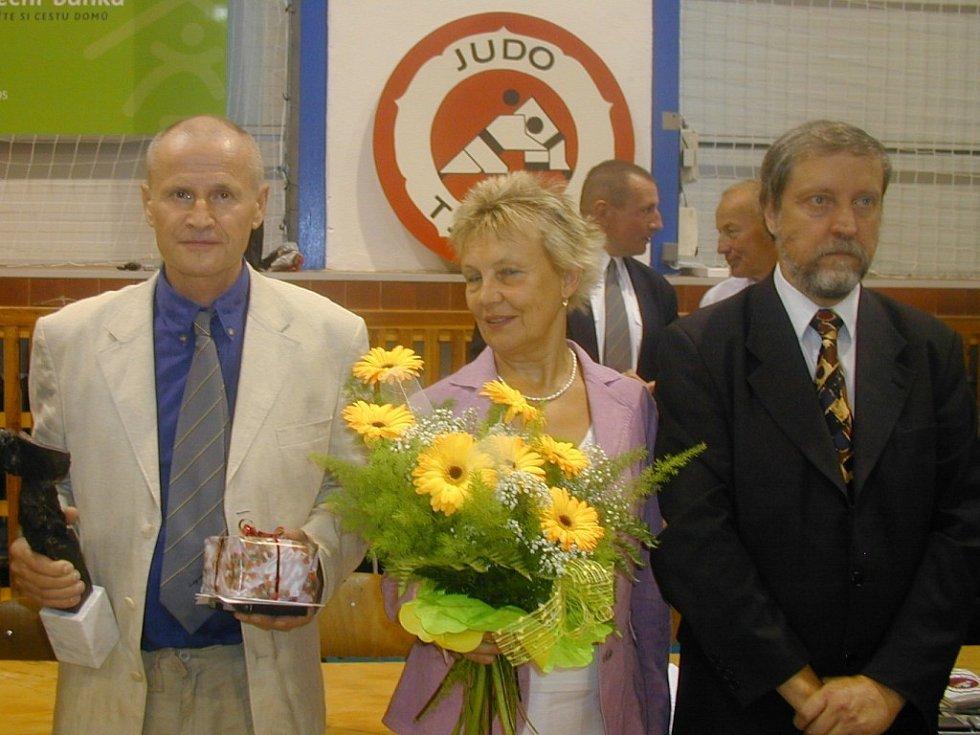 Ocenění manželé Vladimír a Vladimíra Heinzovi z Opavy.