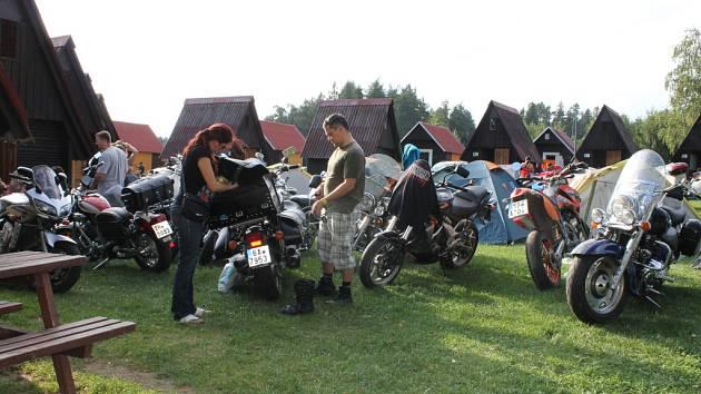 Lužanská motopárty.