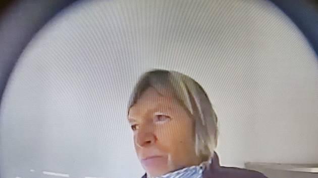 Policisté v Nové Pace pátrají po totožnosti ženy na snímku.