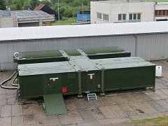 Hořická firma Karbox je dodavatelem polních vojenských nemocnic.