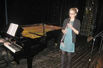 Ze soutěže klarinetistů v Hořicích.