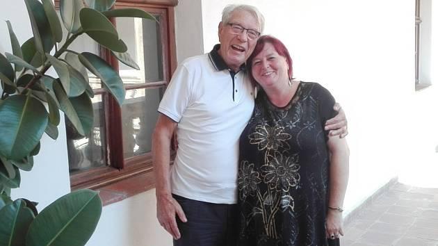 Jaroslava Komárková a Vadim Petrov.