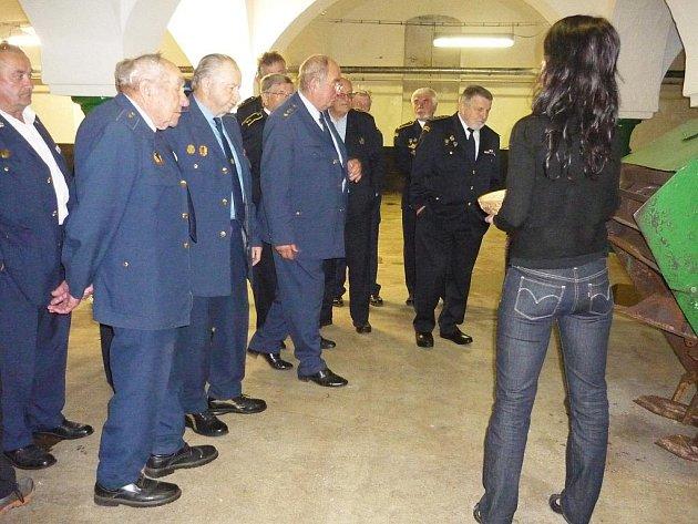 Z krajského setkání hasičů.