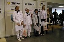 Z přehlídky Salima Brno 2010 - novopačtí studenti.