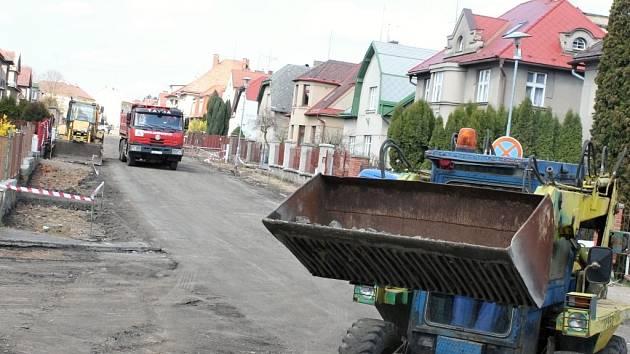 Oprava ulice. Ilustrační foto.