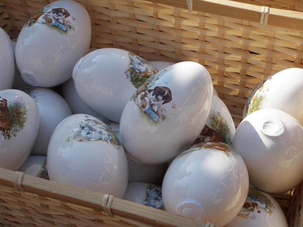 Poslední jičínské velikonoční trhy o Bílé sobotě.