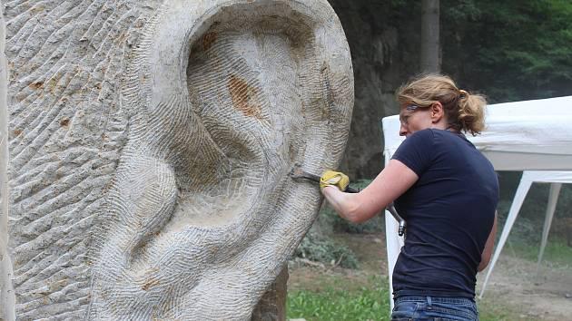 Lom u Hořic patří sochařům.