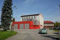 Vizualizace nové hasičské zbrojnice v Jičíně.