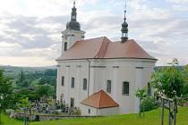 Konecchlumí: kostel sv. Petra a Pavla.