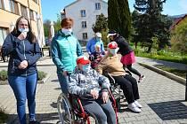 Senioři v domově důchodců. Ilustrační foto