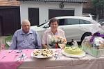 Manželé Kholovi z Vitiněvsi oslavili diamantovou svatbu.