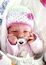 SOFINKA BRAŽINOVÁ se na svět usmívá od 12. srpna, kdy se narodila s porodní mírou 49 cm a váhou 2,85 kg rodičům Lucii a Štefanovi Bražinovým. Rodina žije v Sobotce.