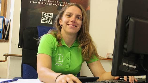 Radka Tobolková, vedoucí Městského informačního centra v Jičíně