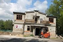 Rekonstrukce miletínské sokolovny.