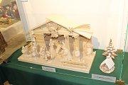 Výstava betlémů v Suchardově domě v Nové Pace.