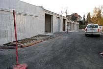 Výstavba garáží firmou Staving.
