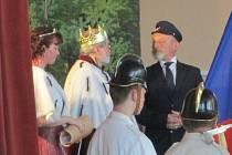 Oslava 100. narozenin republiky v Lukavci.