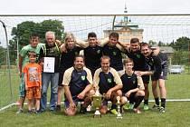 Turnaj v malé kopané v Jičíněvsi - tým Bukvice.