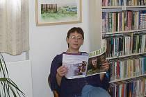 Stanislava Benešová, ředitelka novopacké knihovny.