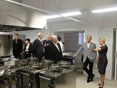 V kopidlenské zahradnické škole mají novou kuchyni.