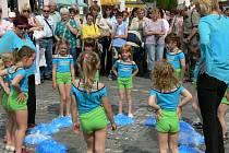 Na našem Dni s Deníkem se představil také taneční soubor Sedmikrásky z mateřské školy na sídlišti.