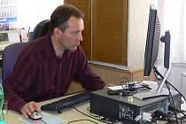 Ing. Pavel Šubr, starosta města Lázně Bělohrad, při on-line rozhovoru v naší redakci.