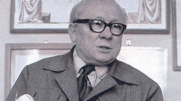 Filmový režisér Karel Zeman.