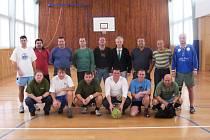 Společný snímek  účastníků 12. Batalion cupu.