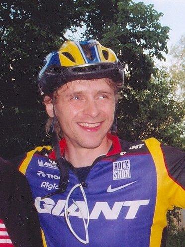 Úspěšný cyklista Karel Horák.