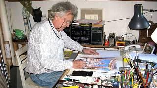 Jeho ambice studovat animace Vysoké škole uměleckého průmyslu v Praze zůstala.