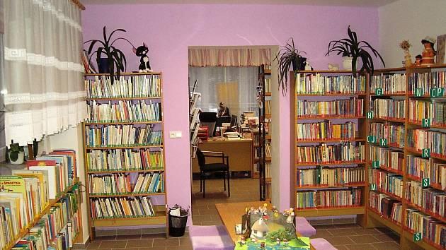 Knihovna ve Vysokém Veselí.