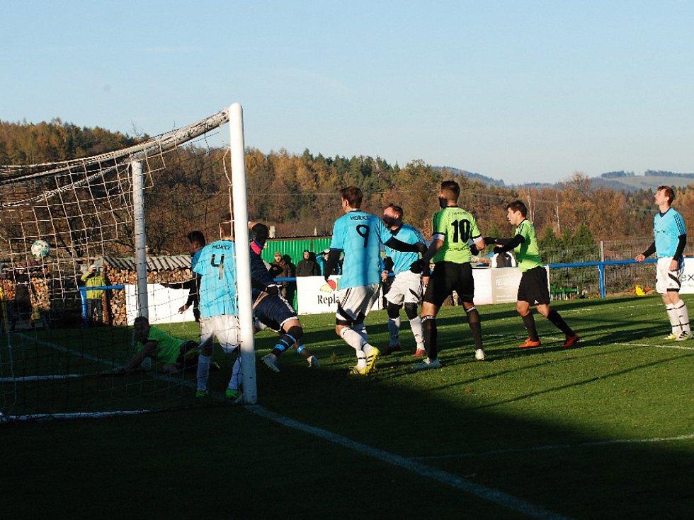 Fotbalový krajský přebor: TJ Jiskra Hořice - FK Vysoká nad Labem.