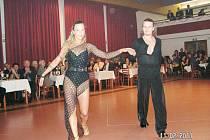 Ze sokolského plesu v Mladějově.